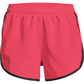 Under Armour Fly By 2.0 Shorts Women, roze